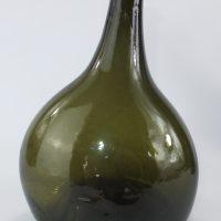 English Bladder Wine Bottle C1725/30