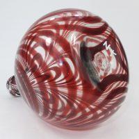 Nailsea Glass Onion Bottle Form
