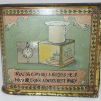 Rare Medical Advertising Tin Watch Holder Harrogate