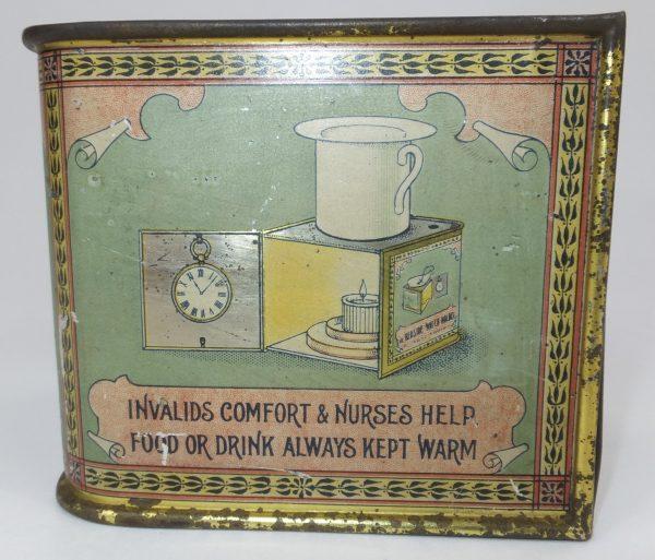 Rare Medical Advertising Tin Watch Holder Harrogate