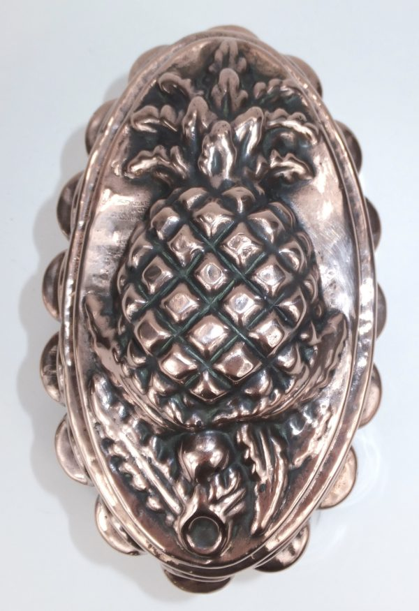 Pineapple Benham & Froud Copper Food Mold Mould