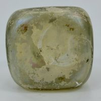 Rare Square Sided Apothecary Phial Vial