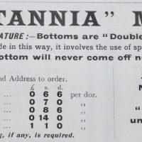 Antique Tin & Brass Markham Dairy Milk Can Bucks