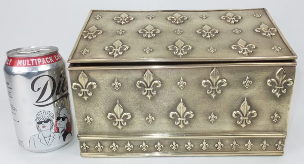 Antique Brass Stationary Box