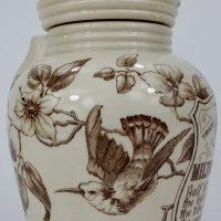 Antique Pottery Medical Inhaler Milton