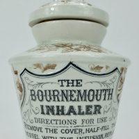 Rare Pottery Inhaler The Bournemouth