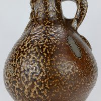 Antique Tigerglaze Stoneware Bellarmine Jug Witches Bottle No2