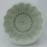 Maling Pottery Jelly Mould Sun Face