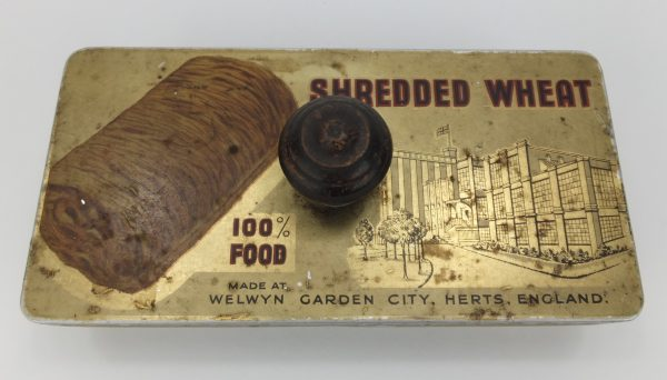 Shredded Wheat Tin Advertising Blotter