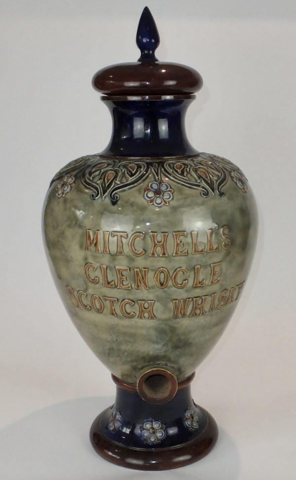 Mitchells Scotch Whisky Doulton Lambeth Dispenser