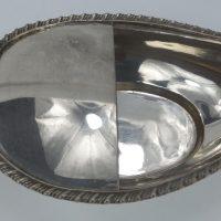 Antique Solid Silver Pap Boat Invalid Feeder Hamilton Calcutta India