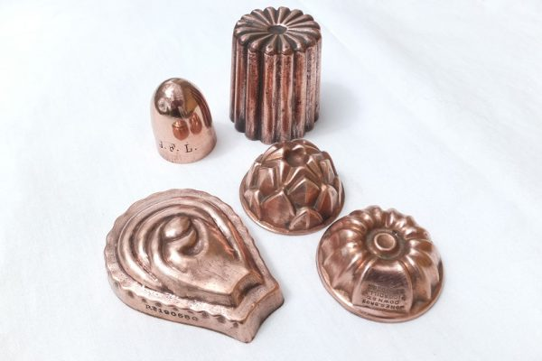 Miniature Aspic Figural Copper Food Mould Mold