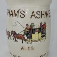 Fordhams Ashwell Ale Brewery Pub Jug Royal Doulton Hertfordshire