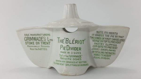Rare Grimwades Pottery Bleriot Pie Bird Funnel