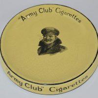 Army Club Cigarettes Tip Tray