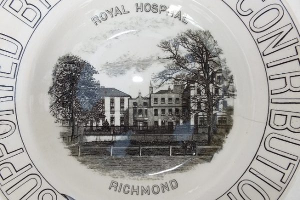 Richmond Royal Hospital Advertising Plate No1 Surrey