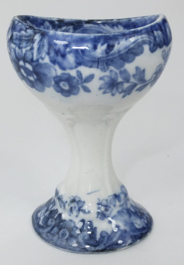 Copeland Spode Blue & White Pottery Eye Bath Eyebath
