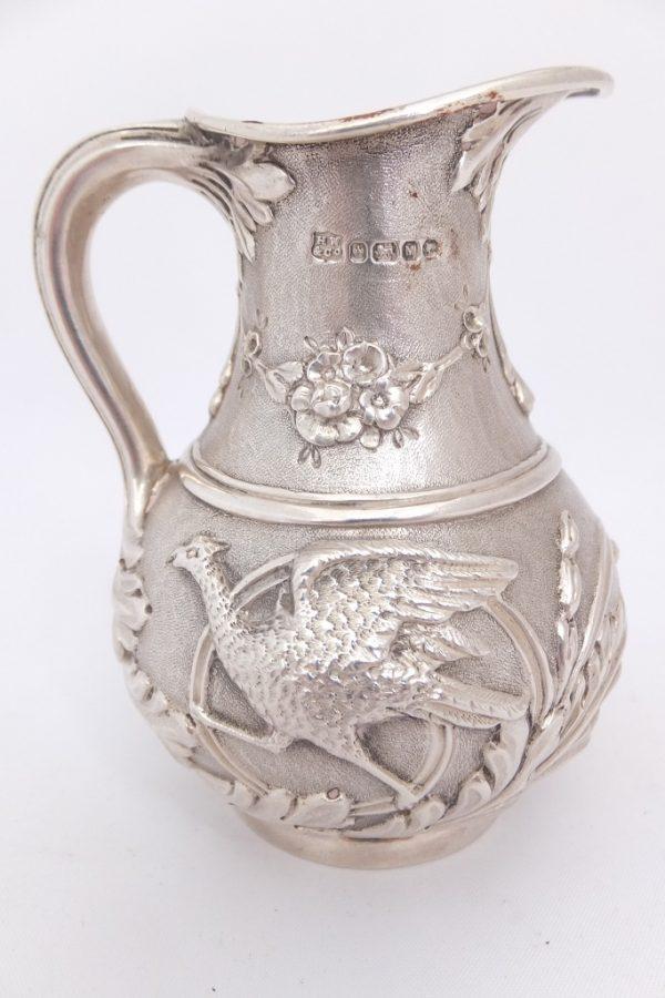 Silver Phoenix Cream Jug Henry Wilkinson Sheffield 1879