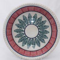 Antique Pottery Spongeware Bowl