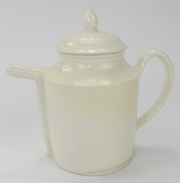 Very Rare Shaped Creamware Bubby Pot
