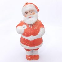 German Bisque Santa Nodder Figure