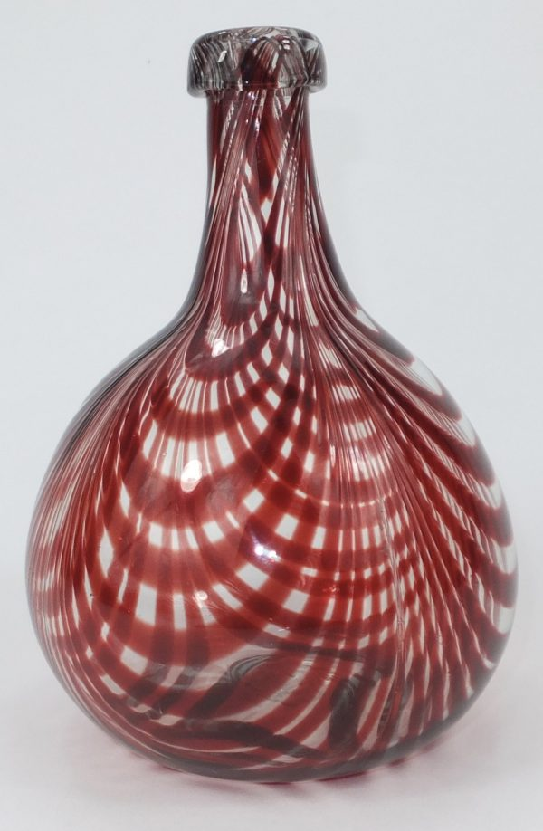Nailsea Glass Onion Bottle Form