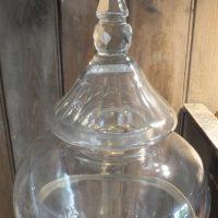 Antique Cut Glass Brandy Dispenser