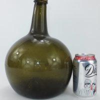 Globular Freeblown Bottle English C1740/60