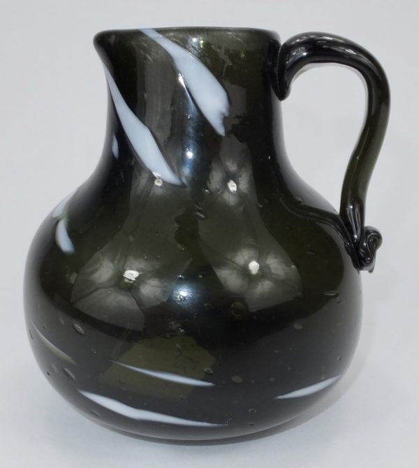 Wrockwardine Handled Gorge Shaped Jug Shropshire