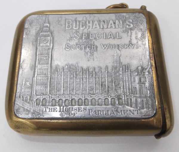Buchanans House Of Commons Scotch Whisky Vesta Case
