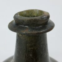 Antique Sealed Transitional Shaft and Globe Glass Wine Bottle C1680