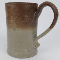 Saltglaze Stoneware Tavern Ale Tankard Tunbridge Kent 1762