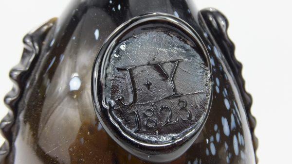 Alloa Glassworks Sealed & Dated Bottle J*Y 1823 Scotland