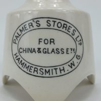 Antique Pottery Palmers Hammersmith Pie Funnel