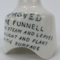 Popular Pottery Advertising Pie Funnel