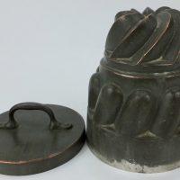 Rare Benham Copper Ice Cream Mould Mold Board Of Works Ireland