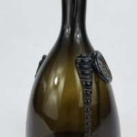 Alloa Glass Masons Mallet Bottle Es 1817 Scotland