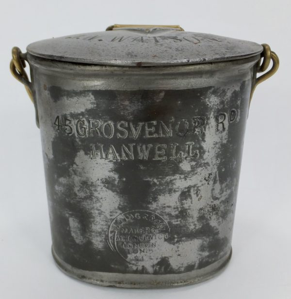 Watson Hanwell Tin Milk Can King & Son East Dulwich