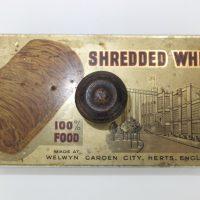 Shredded Wheat Tin Advertising Blotter