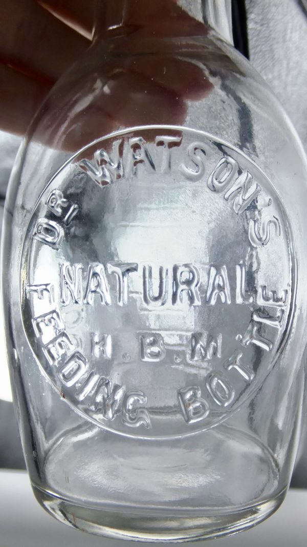Dr Watsons Glass Feeding Bottle
