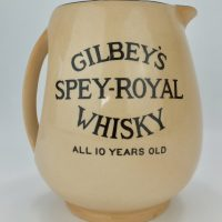 Gilbeys Spey Royal Whisky Water Pub Jug