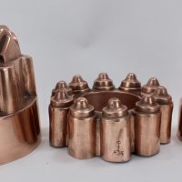Antique Copper Food Jelly Mould Pryke & Palmer London