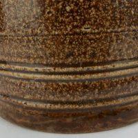 English Saltglaze Stoneware Bull Tavern Mug Tankard