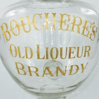 Exceptional Large Cut Glass Brandy Dispenser