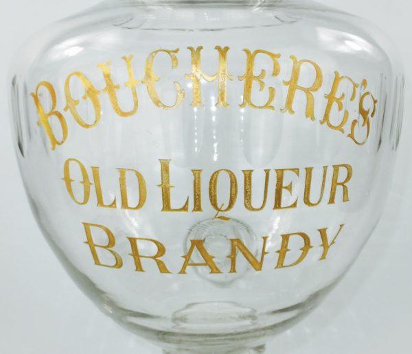 Exceptional Large Cut Glass Brandy Dispenser
