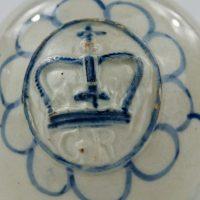 George 111 English Pearlware Pottery Mustard Pot