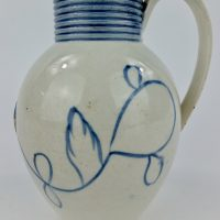 George 111 English Pearlware Pottery Mustard Pot