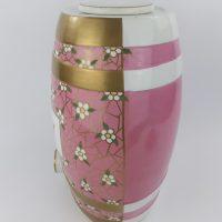 Rare Decorative Staffordshire Pottery Whisky Barrel