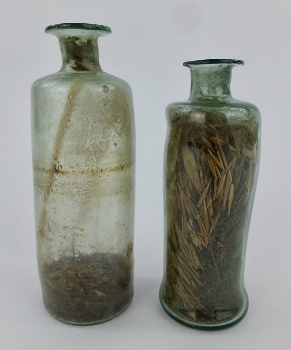 Apothecary Glass Phial Bottles No 4