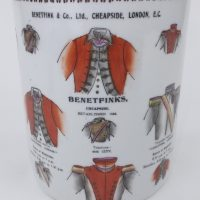 Benetfinks Military Outfitters Advertising Pot London Pencil Jar